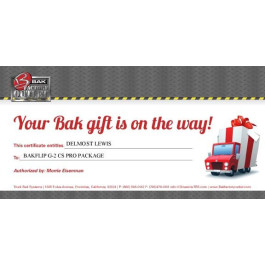 Gift Certificate (Select for Amount Options)