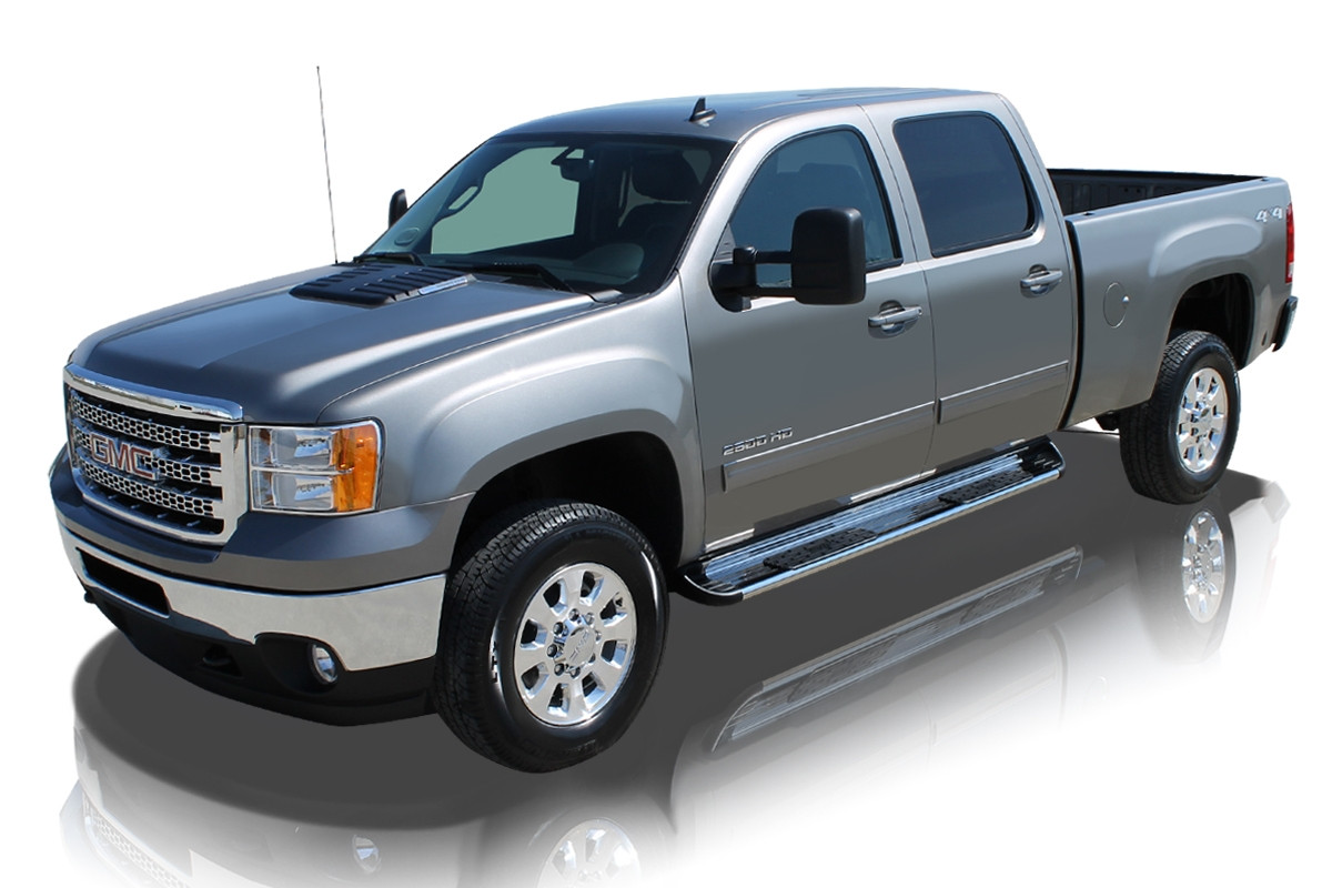 Raptor 7 Quot Stainless Steel Running Boards
