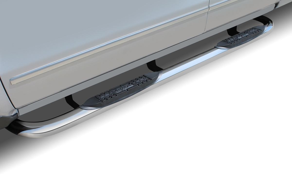 Raptor 3 Quot Round Stainless Steel Step Bars