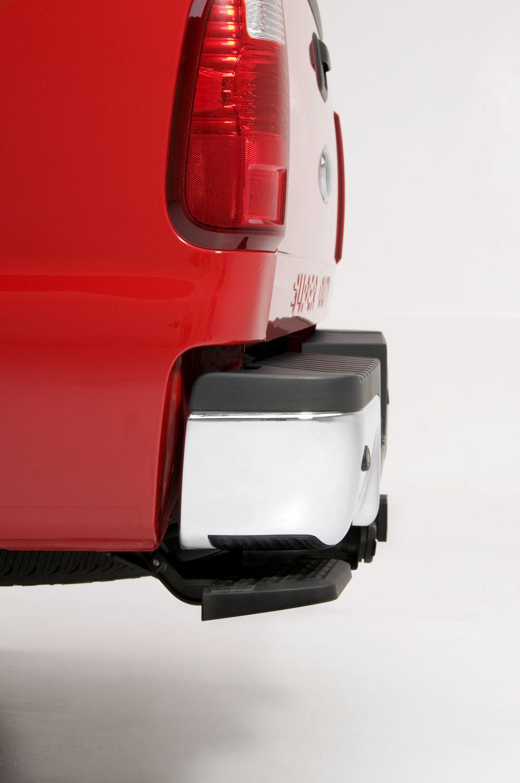Amp Research Bedstep Flip Down Rear Bumper Step For Trucks