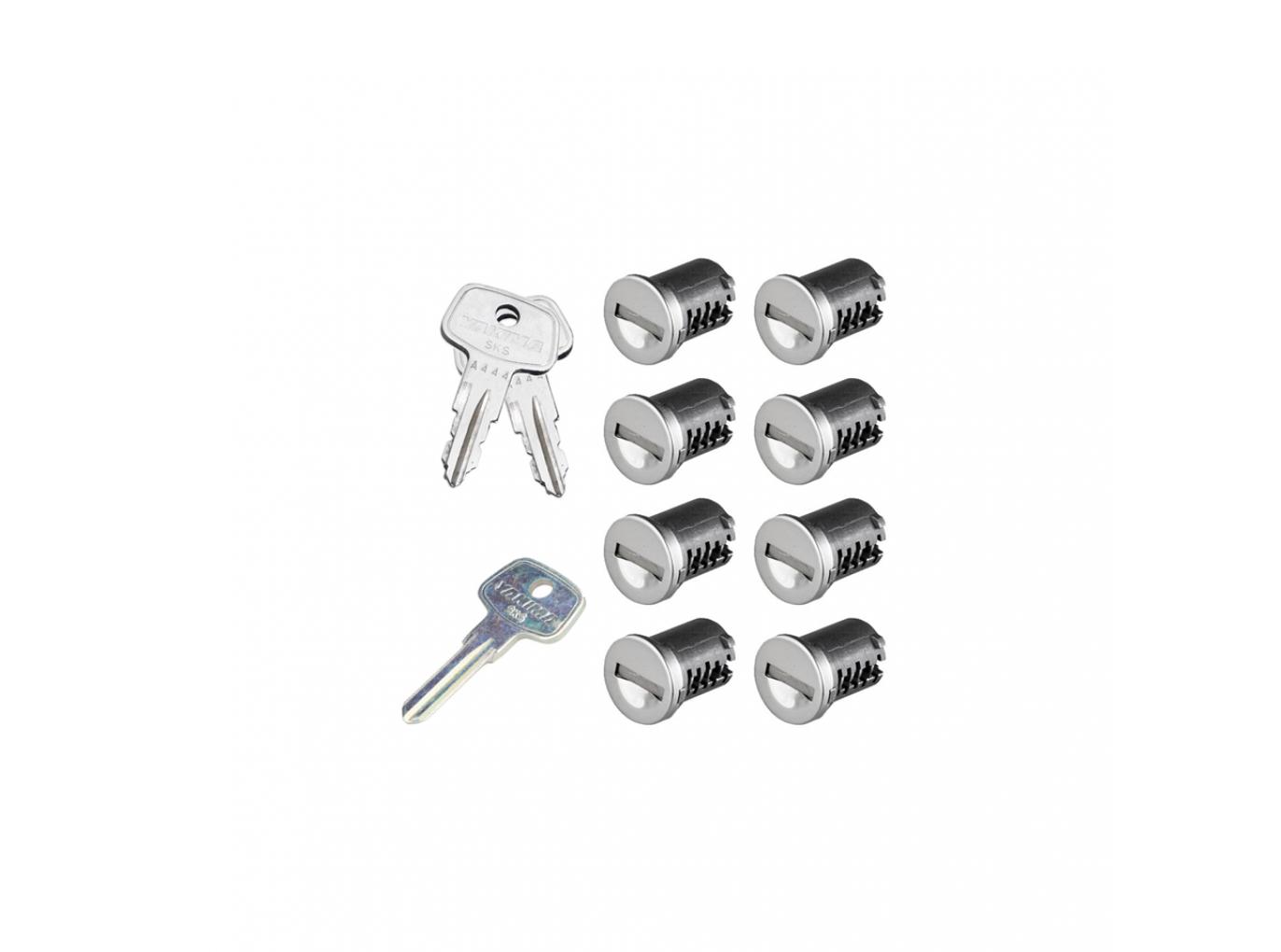 Yakima SKS lock cylinders lock cores 2 lock cores 1 key