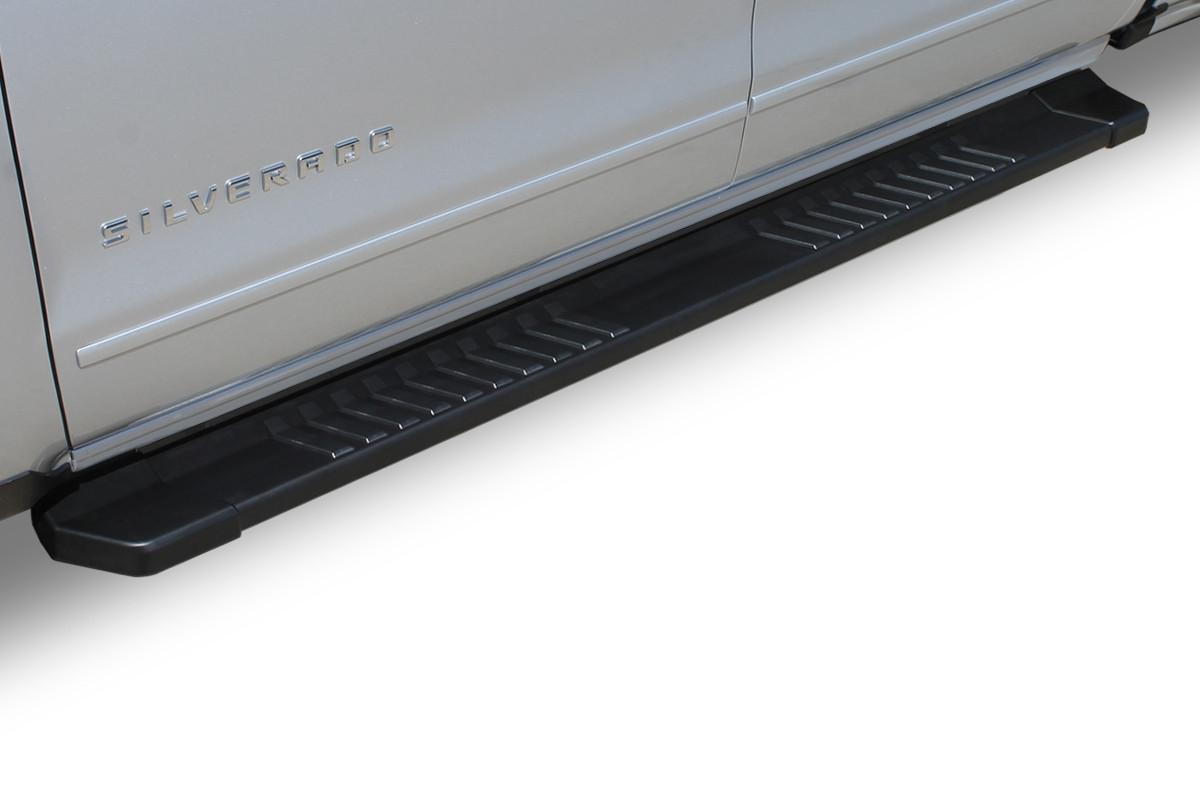 "Raptor 6"" OEM Running Boards - Black Textured Aluminum"