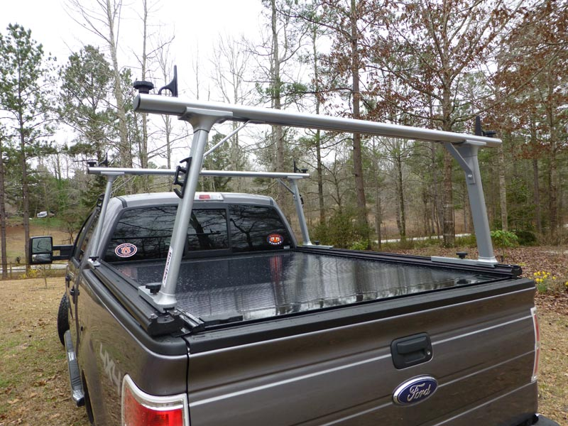 TracRac With Retrax Tonneau covers